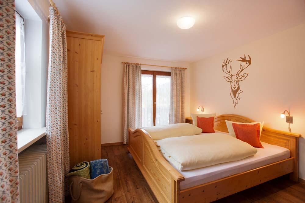 Schlafzimmer der Wohnung Nr. 5 Josepha